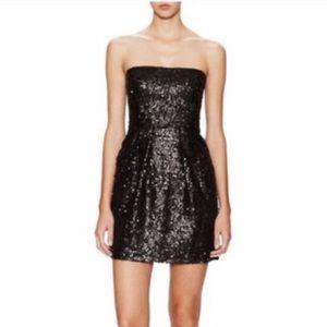 🔵 2 for $10 🔵BCBG  MAXAZRIA Blck Sequence Dress